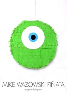 Monsters University DVD Pre-Order   DIY Piñata