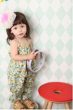 モリッシュオーバーロール(ウォームイエロー) : かわいい!絵本みたいな子供服!ANNIKA アニカ 2012春夏COLLECTION 韓国 - NAVER まとめ