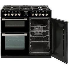 Buy Belling DB4 Deluxe 90DFT MF Dual Fuel Range Cooker Online at johnlewis.com H90-93 x W89.6 x D60cm