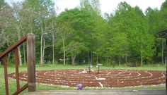 Labyrinth in the Mebane/Efland NC area   Santa Rosa Labyrinth,,, It is available for walking by anyone in the area who needs the use of the space.
