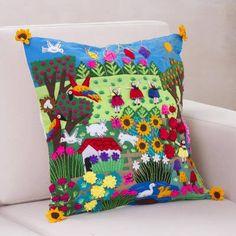 Applique Cushions, Crochet Cushions, Felt Applique, Applique Quilts, Cushion Cover Designs, Cushion Covers, Pillow Covers, Kites Craft, Kids Pillows