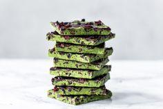 matcha bark mit Superfoods