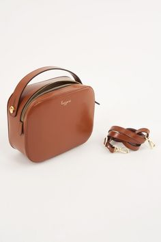 Briefcase handbag with shoulder strap - Women's Clothing Online Made in Italy