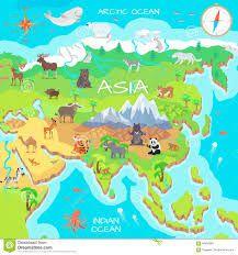 azja mapa dla dzieci do druku - Szukaj w Google