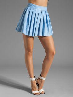 REVOLVE Mobile-I desperately want a leather skirt