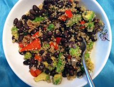 Southwest Quinoa Bowl with Avocado