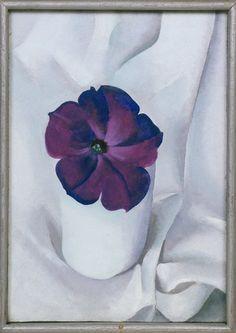 Georgia O'Keeffe. Petunia, 1925