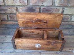 Decorative Wooden Pallet Box | 101 Pallet Ideas