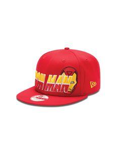New Era Iron Man Horizon Snapback Hat