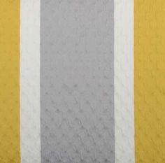 grey white yellow stripe