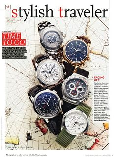 """"""" Styled by Richie Owings (via Halley Resources). Magazine Layout Design, Time In The World, Jewelry Editorial, Picture Design, Product Photography, Travel Style, Jewelry Watches, Concept, Stylish"""