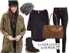 Celebrity Street Style of the Week: Ashlee Simpson, Alessandra Ambrosio, & Emmy Rossum