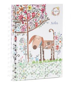 Take a look at this Darling Dog Journal Spiral-Bound by World Publications on #zulily today!