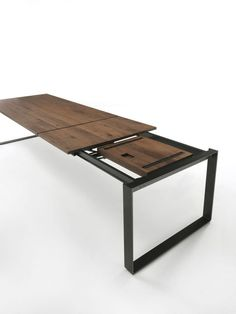 Riva 1920, made in Italy., Milan 2015: Infinity table, project by C.R. & S. Riva 1920.