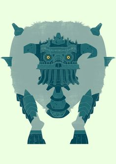 James Gilleard's Shadow of the Colossus Tribute Gallery