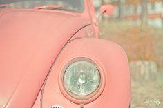 Pretty in Pink Beetle Dream Cars, My Dream Car, Vintage Pink, Vintage Cars, Vintage Vibes, Vintage Stuff, Roses Tumblr, Pink Beetle, I Believe In Pink