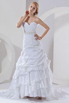 Weekly Special Product: Weißen Taft Trompete / Meerjungfrau Hochzeitskleid ma2942 - Order Link: http://www.modeabendkleider.de/weissen-taft-trompete-meerjungfrau-hochzeitskleid-ma2942.html - Farbe: White; Silhouette: Trompete / Meerjungfrau; Ausschnitt: S