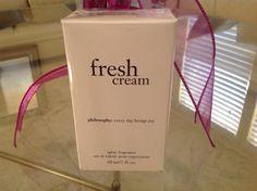 Philosophy FRESH CREAM Spray Fragrance 2 fl. oz.  (brand new in Sealed box) #Philosophy