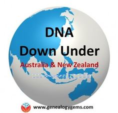 AncestryDNA test kits are now sold in Australia and New Zealand. Read more of what's happening in genetic genealogy Down Under.