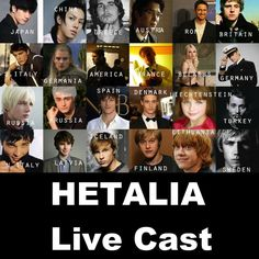 Hetalia Live Cast...hmm...I agree with most of these, but I think Rupert was a weird choice for Lithuania seeing as liet isn't a ginger...