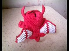3d origami devil (Lithuania).wmv