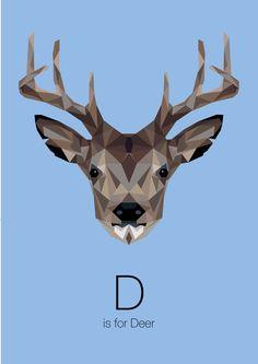 Animal Alphabet by Linn Maria Jensen, via Behance