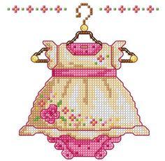 etamin Make into an ornament for grandkids bebek elbise