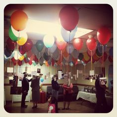 Did this for our pastor appreciation day and used double stick tape to tape the top of the balloon to the ceiling. It was awesome! Pastor Appreciation Poems, Volunteer Appreciation, Appreciation Gifts, Gifts For Pastors, Pastors Wife, Pastor Anniversary, Church Activities, The Balloon, Balloon Party