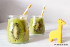 Smoothie de kiwi y espinacas #blw #green #smoothie