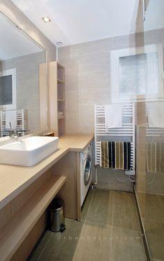 Salle de bain - meuble sur mesure
