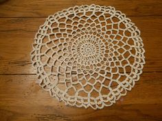 Create Cement Lace Using Doilies and Other Crochet Items