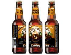 Crooked Ladder Brewing – Outta My Vine Pumpkin Ale Bottle Label © 2015