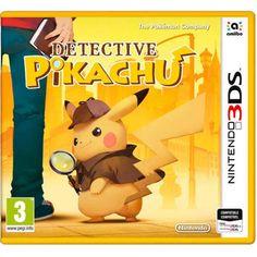 Nintendo 3DS Detective Pikachu WANT... Y U NO IN AMERICA YET