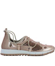 JIMMY CHOO | Jimmy Choo Women's Pink Leather Sneakers #Shoes #Sneakers #JIMMY  CHOO