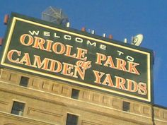 Oriole Park at Camden Yards in Baltimore (2003)