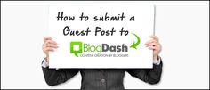If you want to know How to Submit a Guest Post to BlogDash Blog, we invite you to read this post how to collaborate on the BlogDash's Blog. Check it now.