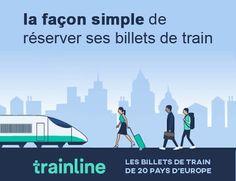 Acheter des billets de Trains moins chers avec trainline Mon Cheri, Europe, Trains, Simple, Movies, Movie Posters, Wayfarer, Films, Film Poster