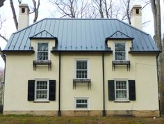 Best 55 Best Charcoal Metal Roof On White House Images Metal 400 x 300