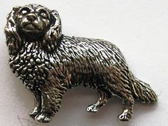 Cavalier King Charles brooch pin made from fine pewter, gift-boxed. Ideal presents & gifts for Cavalier King Charles lovers & owners in the UK & EU.