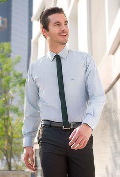 Camisa de vestir Axis Manchester Collection, lineas delgadas y finas para una mayor elegancia.