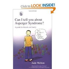 Our Asperger's child loved this book...really helped him to understand there are alot of others out there with his special abilities.