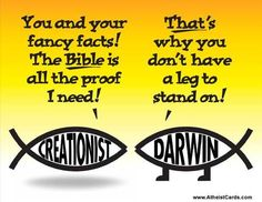 There are plenty of people that follow and see truth in the bible who also see truth in the theory evolution. Many Christians,  in fact.