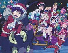 Ao no Exorcist (Blue Exorcist) Image - Zerochan Anime Image Board Rin Okumura, Rin And Shiemi, Kuro Ao No Exorcist, Blue Exorcist Anime, Otaku, Fairy Tail, Fullmetal Alchemist, Manga Anime, Anime Art