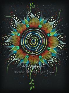 Mandala art   Timea Varga