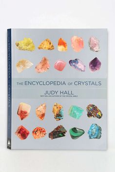 Encyclopedia Of Crystals By Judy Hall - Beautiful Coffee table book