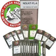 When a problem job appears, you can have the correct embroidery needle on hand. This needle kit contains 20 packs (10 needles per pack) of different flat shank home embroidery machine needles. The extensive assortment of embroidery needles comes in a compact plastic storage box with important information about the different embroidery machine needles.  www.AllStitch.com