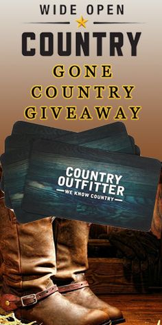 Gone Country Giveaway