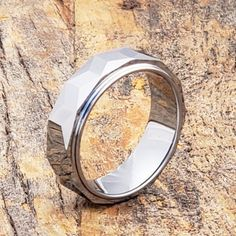 Zircon men's prism faceted tungsten rings come equipped with step down edges in width. Zircon is ultra polished and comfort fit design. Silver Wedding Bands, Wedding Ring Bands, Ring For Boyfriend, Black Gift Bags, Jewelry Gifts, Fine Jewelry, Anniversary Rings, Rings For Men, Tungsten Rings