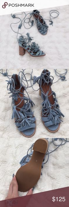 Bnwot Jeffrey Campbell tie up shoes Bnwot Jeffrey Campbell Shoes