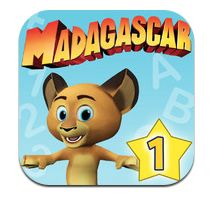 Madagascar Preschool Surf n' Slide App Review by The iPad Fan